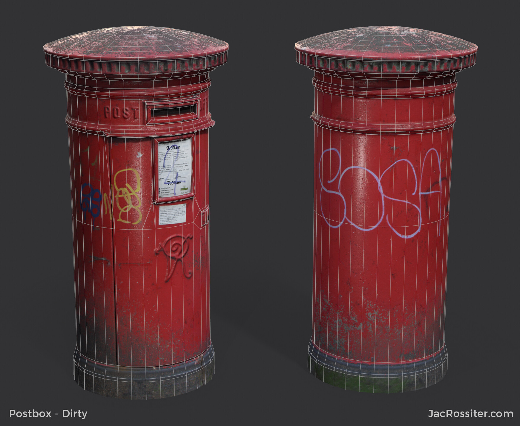 Jac rossiter postbox render a w