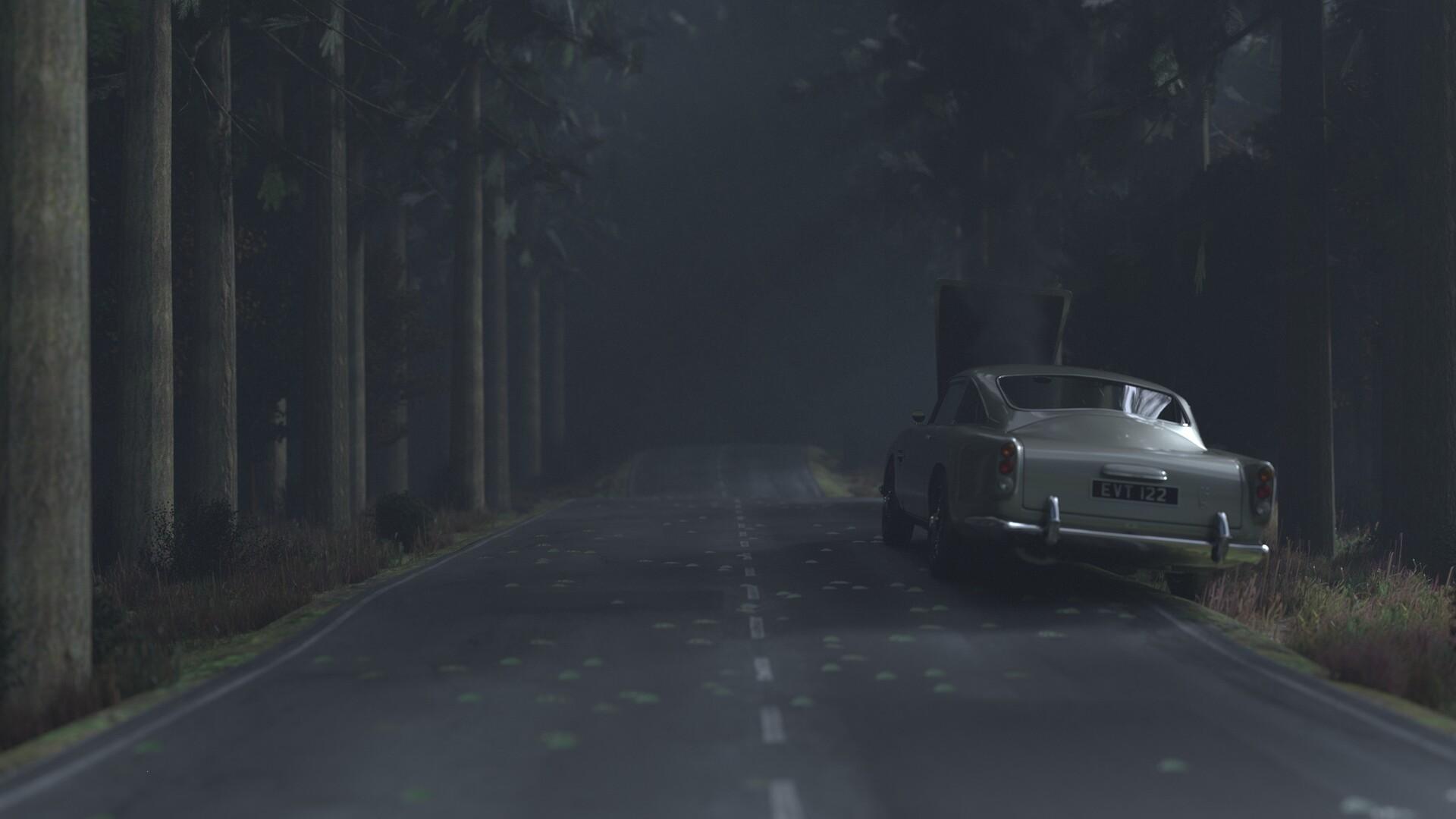 Ruslan Regibayev - Forrest highway accident