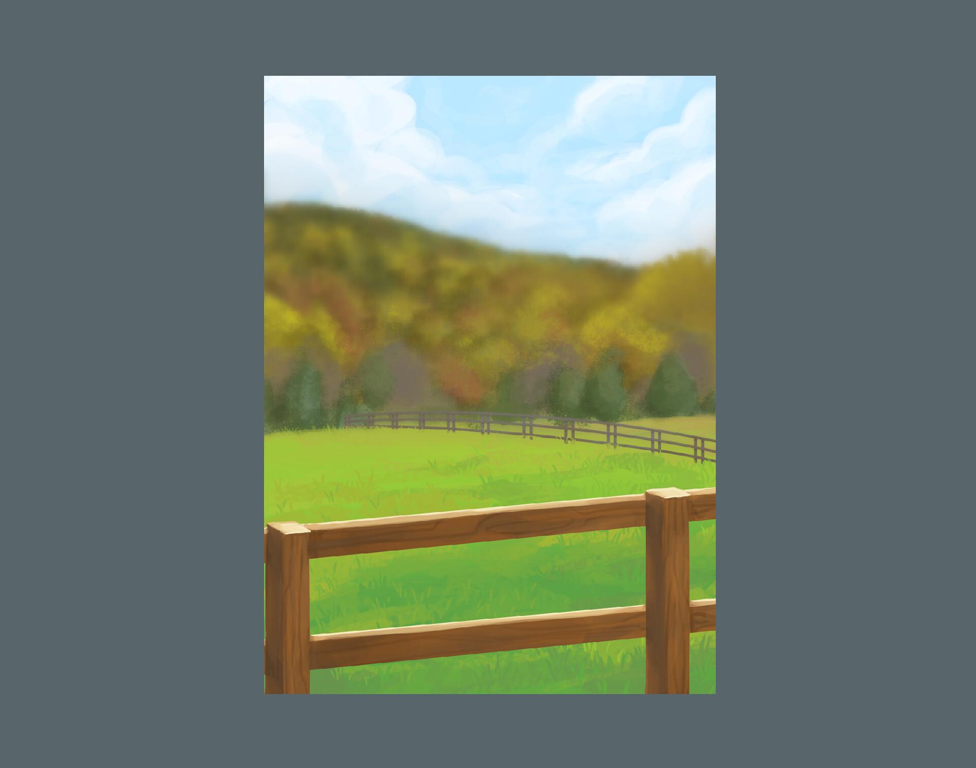 Character creator backdrop painting