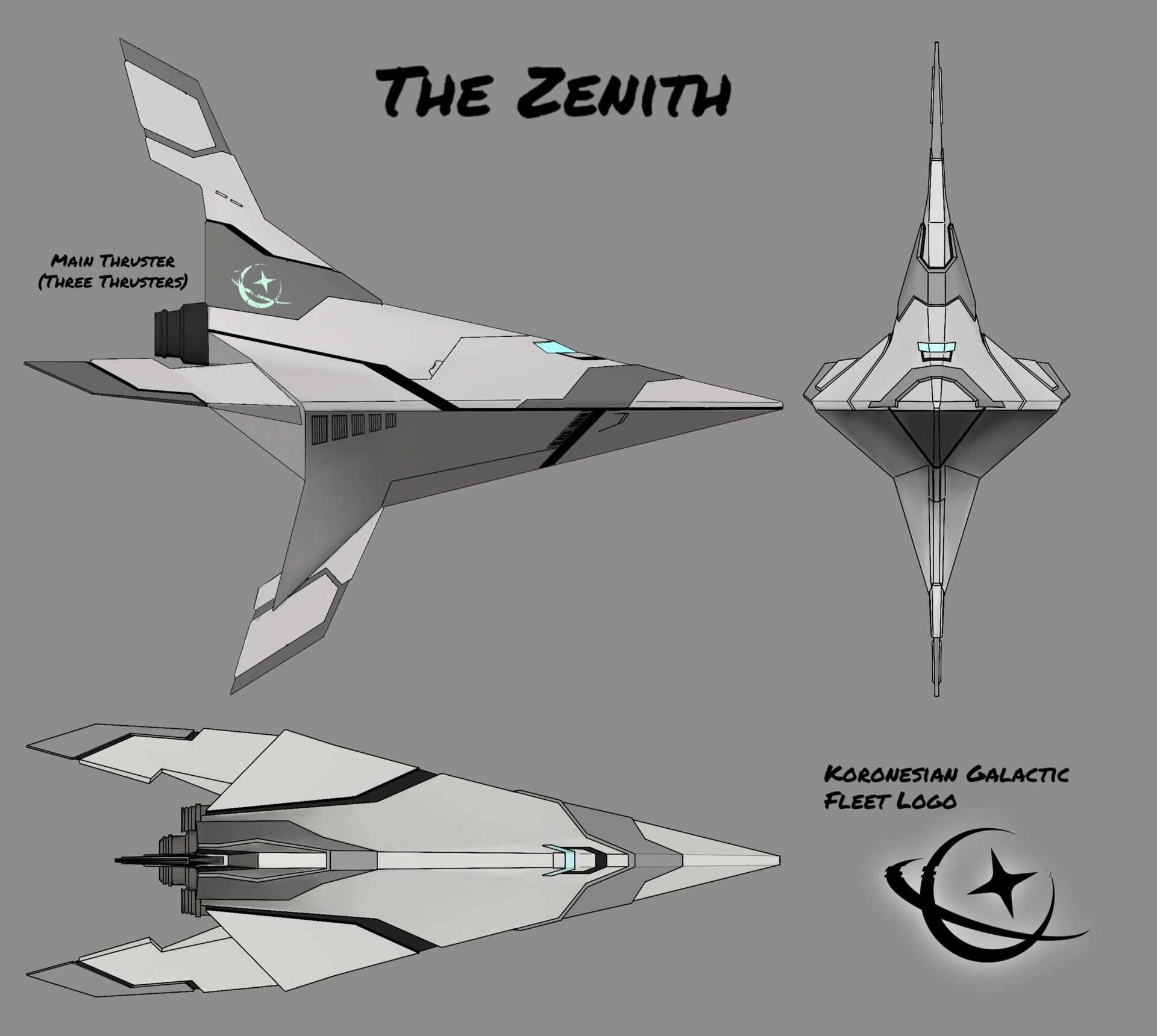 The Zenith Exterior Design