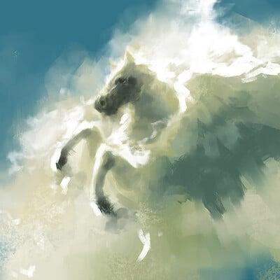 A shipwright sky horse