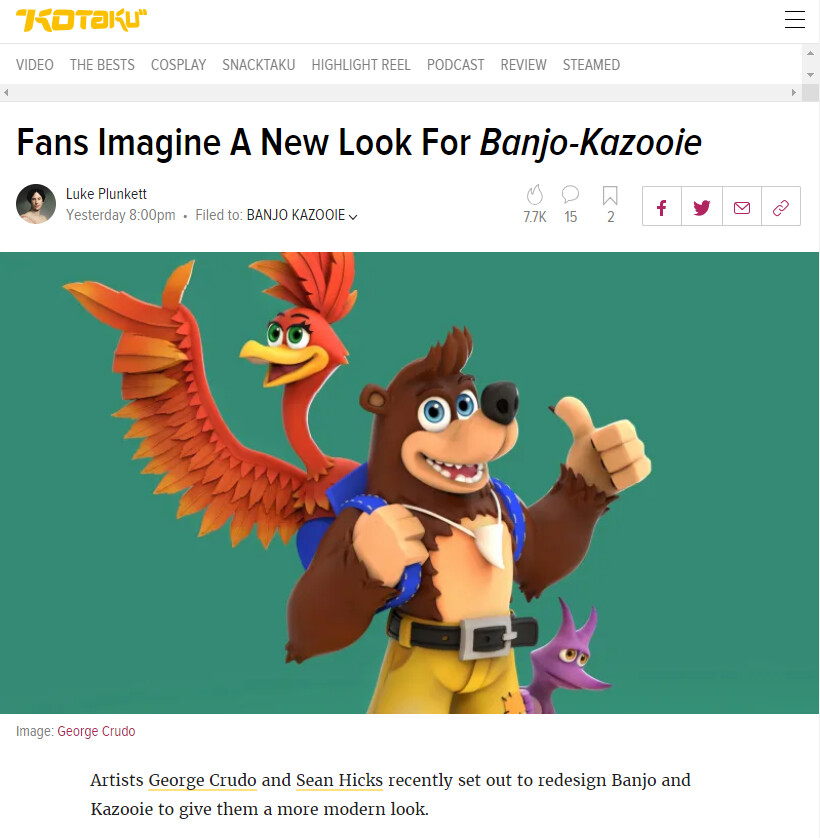 https://kotaku.com/fans-imagine-a-new-look-for-banjo-kazooie-