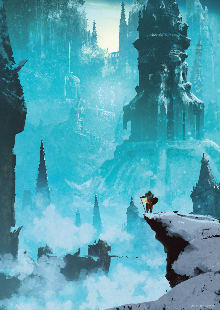 Anato finnstark the broken city darksouls by anatofinnstark dd1zzpa fullview