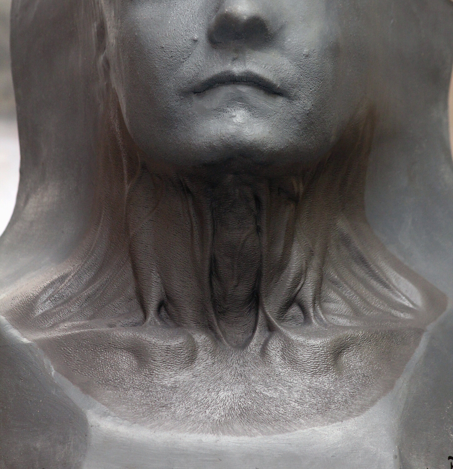 Pride and Prejudice and Zombies / Generic Neck Prosthetic Sculpt