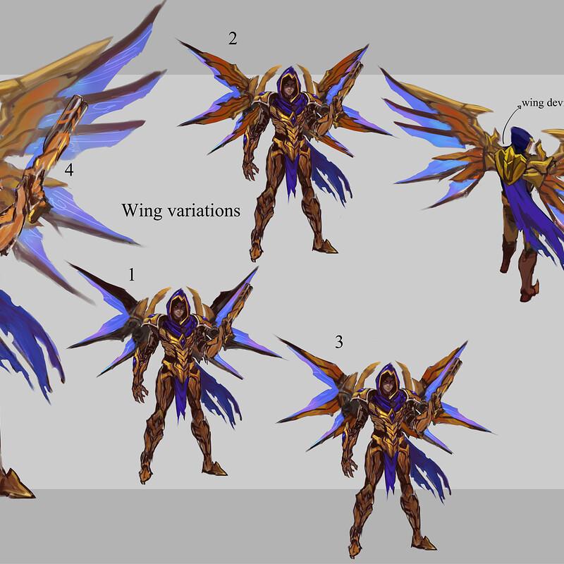 Hero 067: Zaratrass dragoon Idea sheet