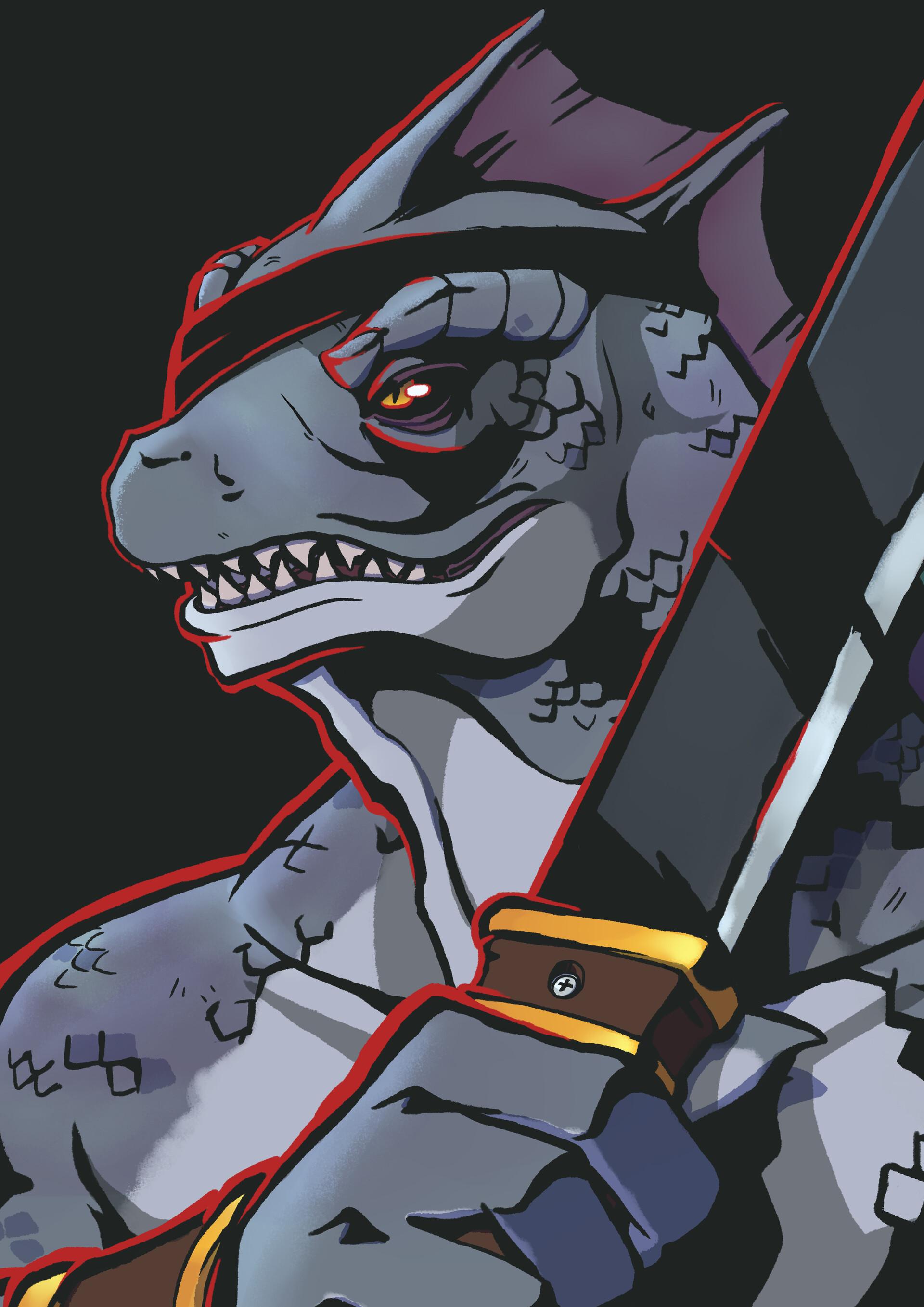 Bruno de s n lizard ranger