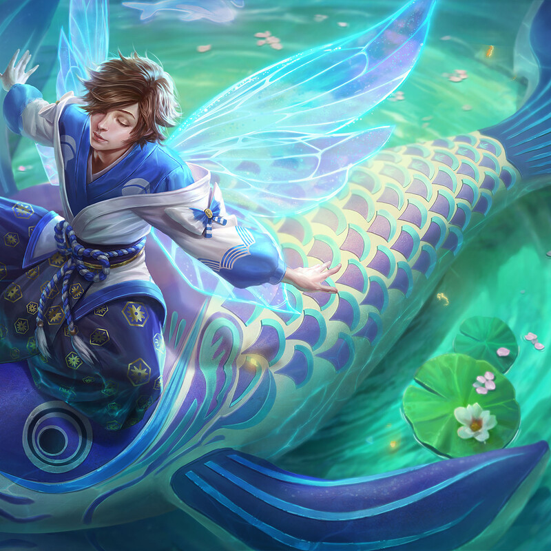 Arena of Valor: Zhuang Zhou splash