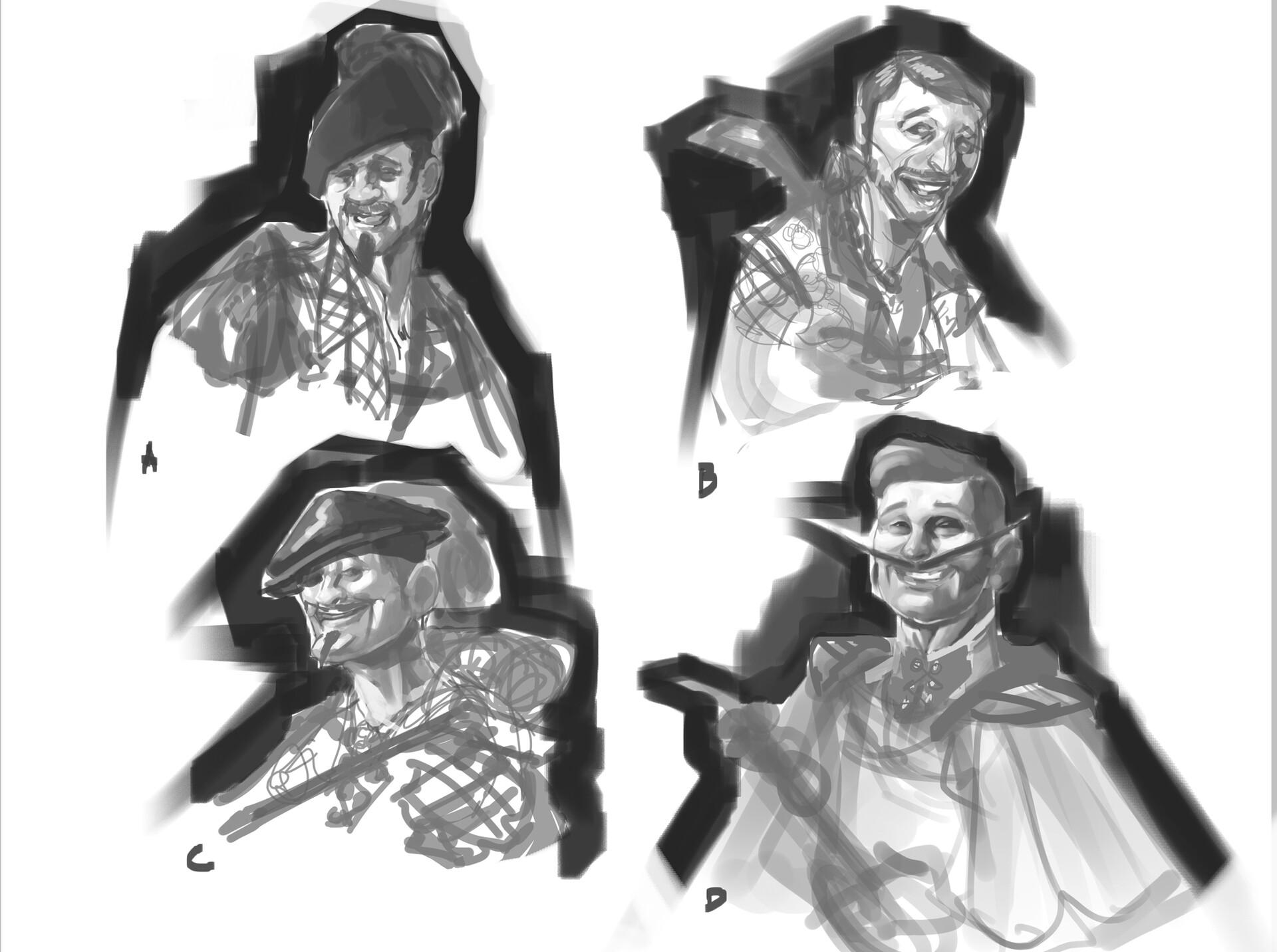 Carlo spagnola bard sketches
