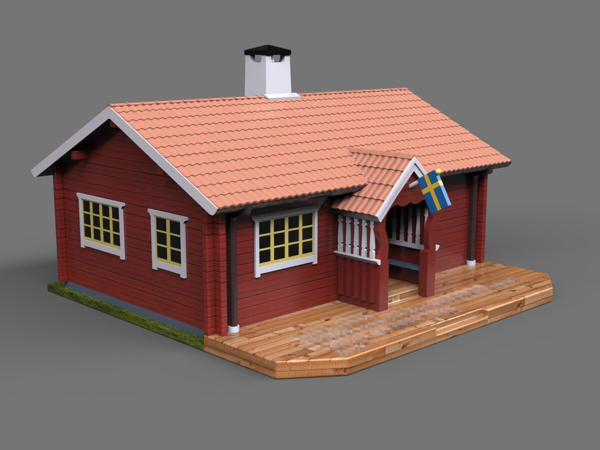 Ken calvert swedish house left portfolio