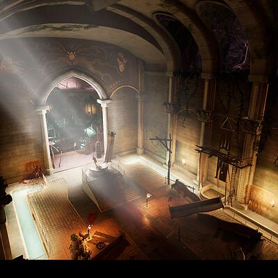 Charlotte clarke temple interior 1