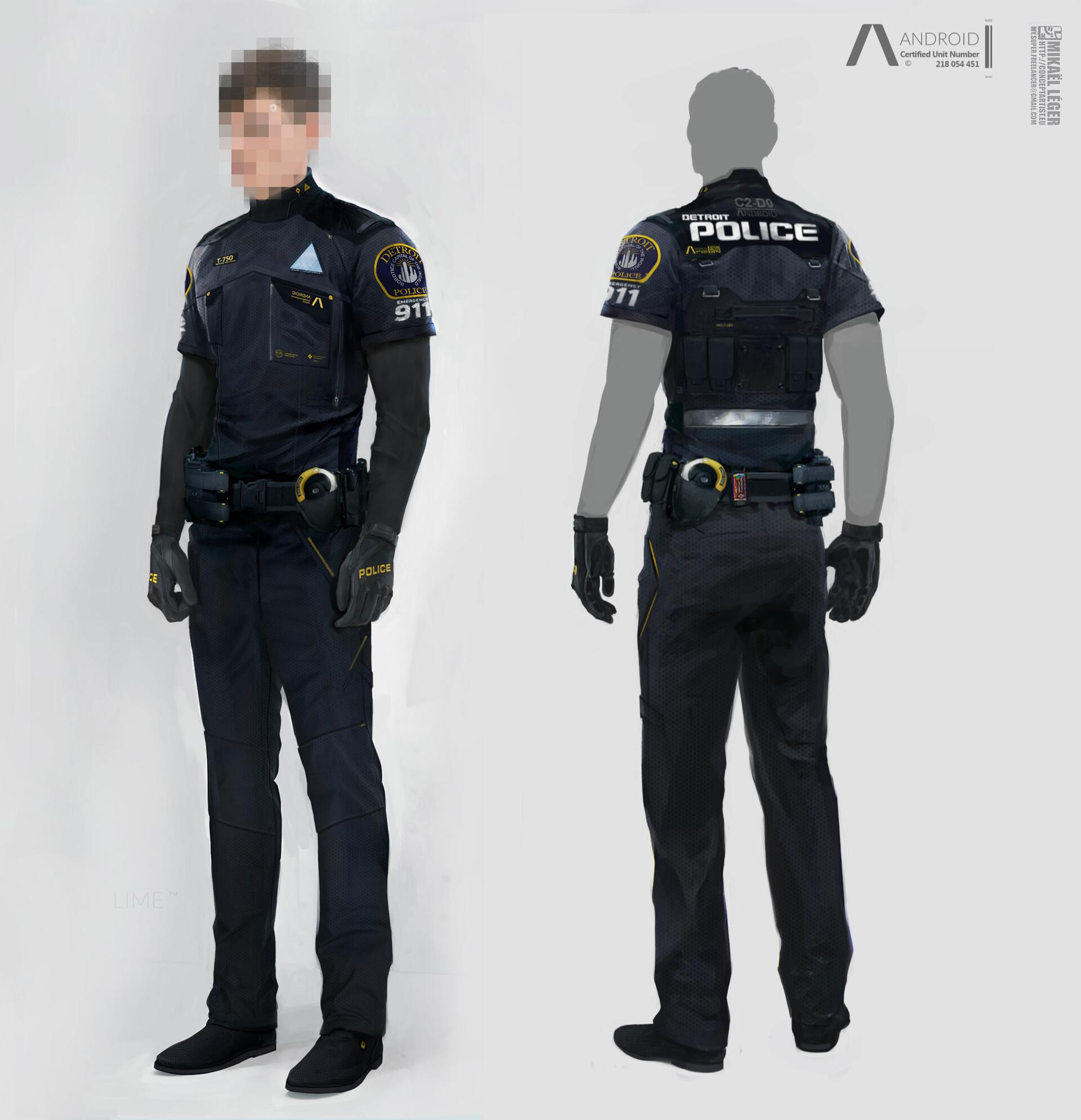 Mikael leger 5b cop front back