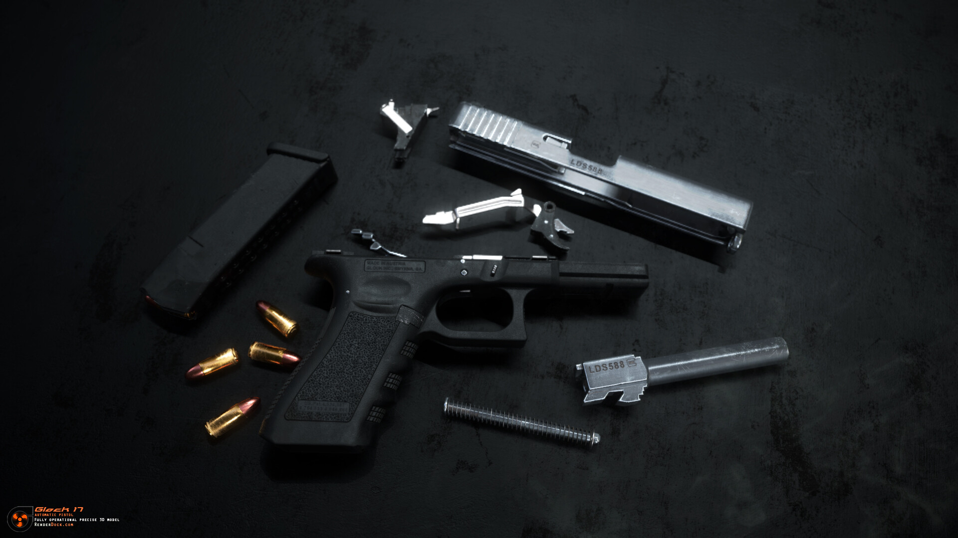 Renderdock studio glock17 10