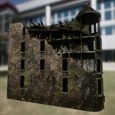 C ross hansen brownstone building c progress 3 left