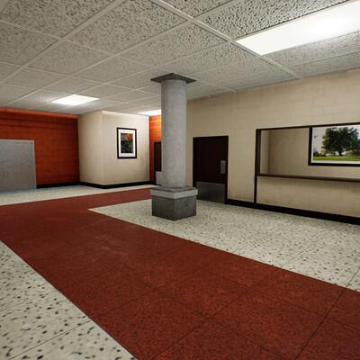 C ross hansen elementary interior 2 right side