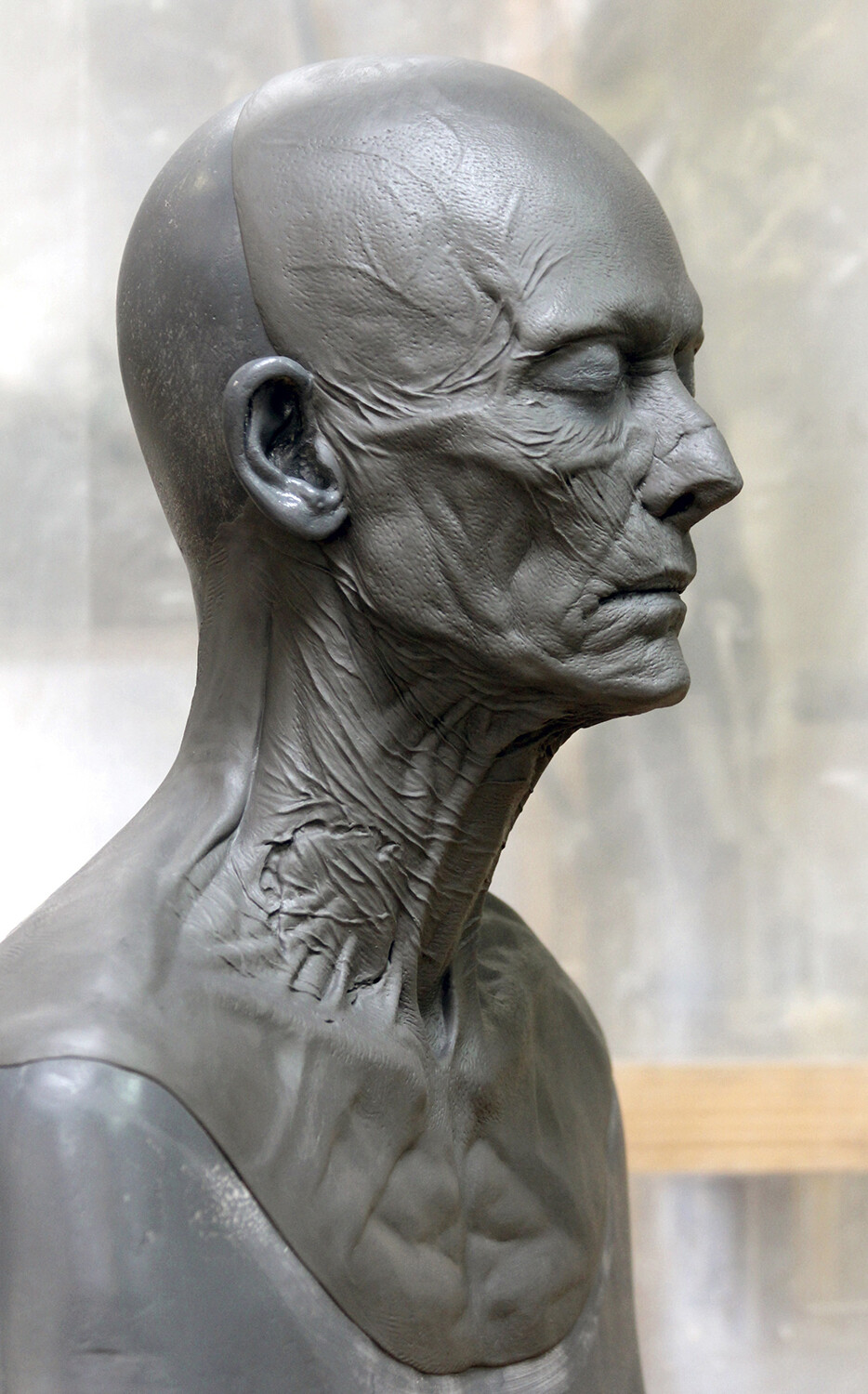 Pride and Prejudice and Zombies / Concept Prosthetic Sculpt