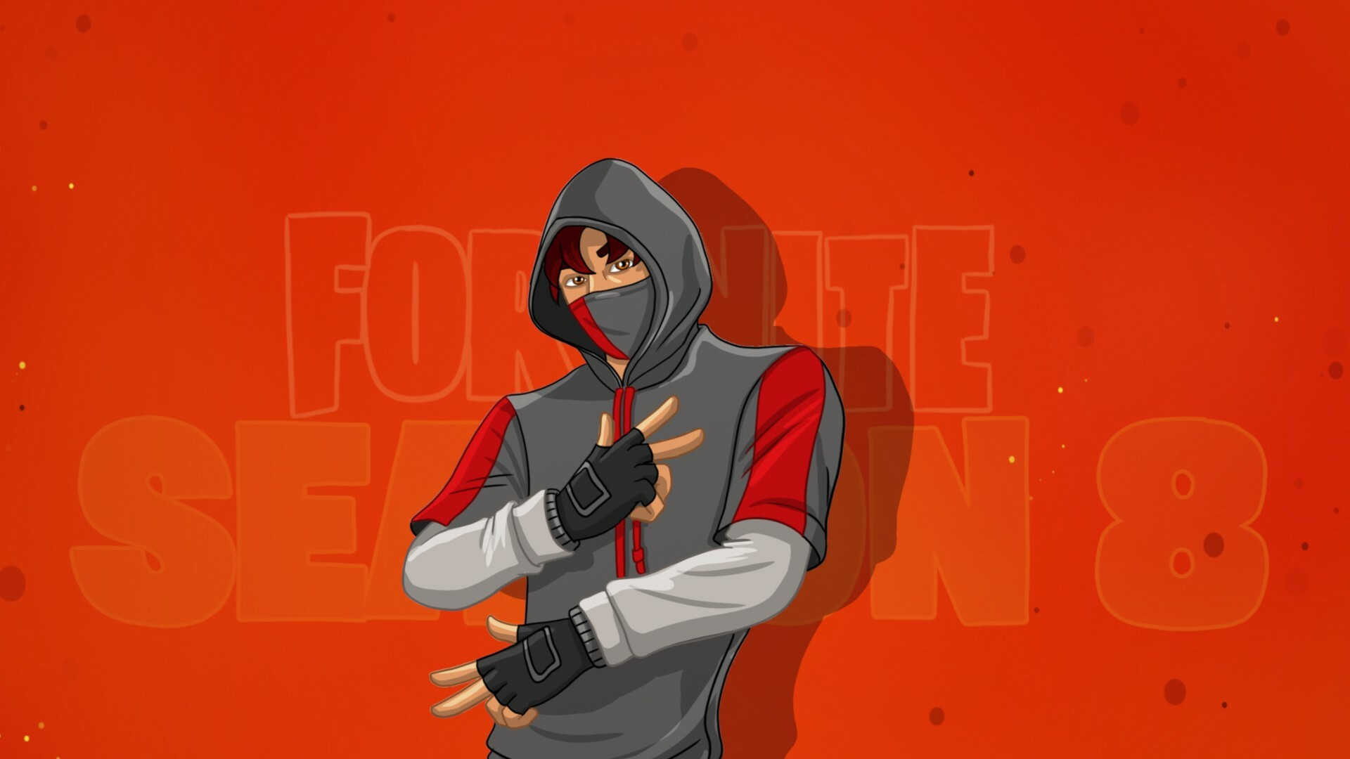 Artstation How To Draw Ikonik Easy Fortnite Season 8 Tutorial