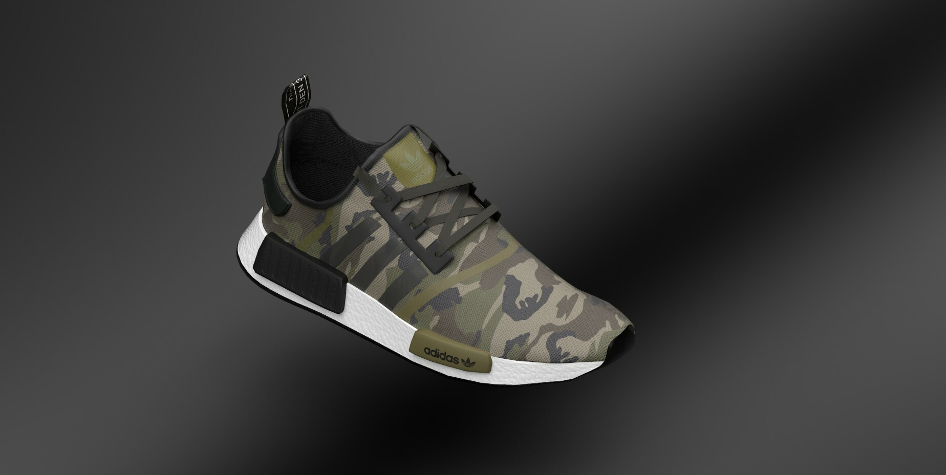 Adidas Shoe, low poly model, for Champ AR project.