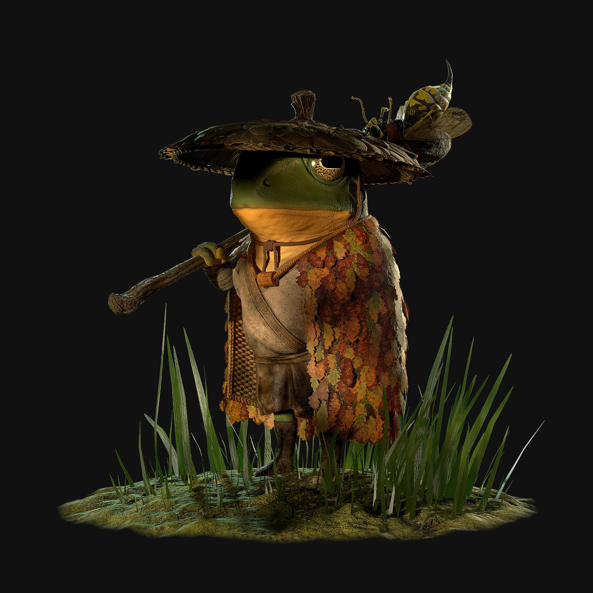 Philipp Kruchkovski Samurai Frog