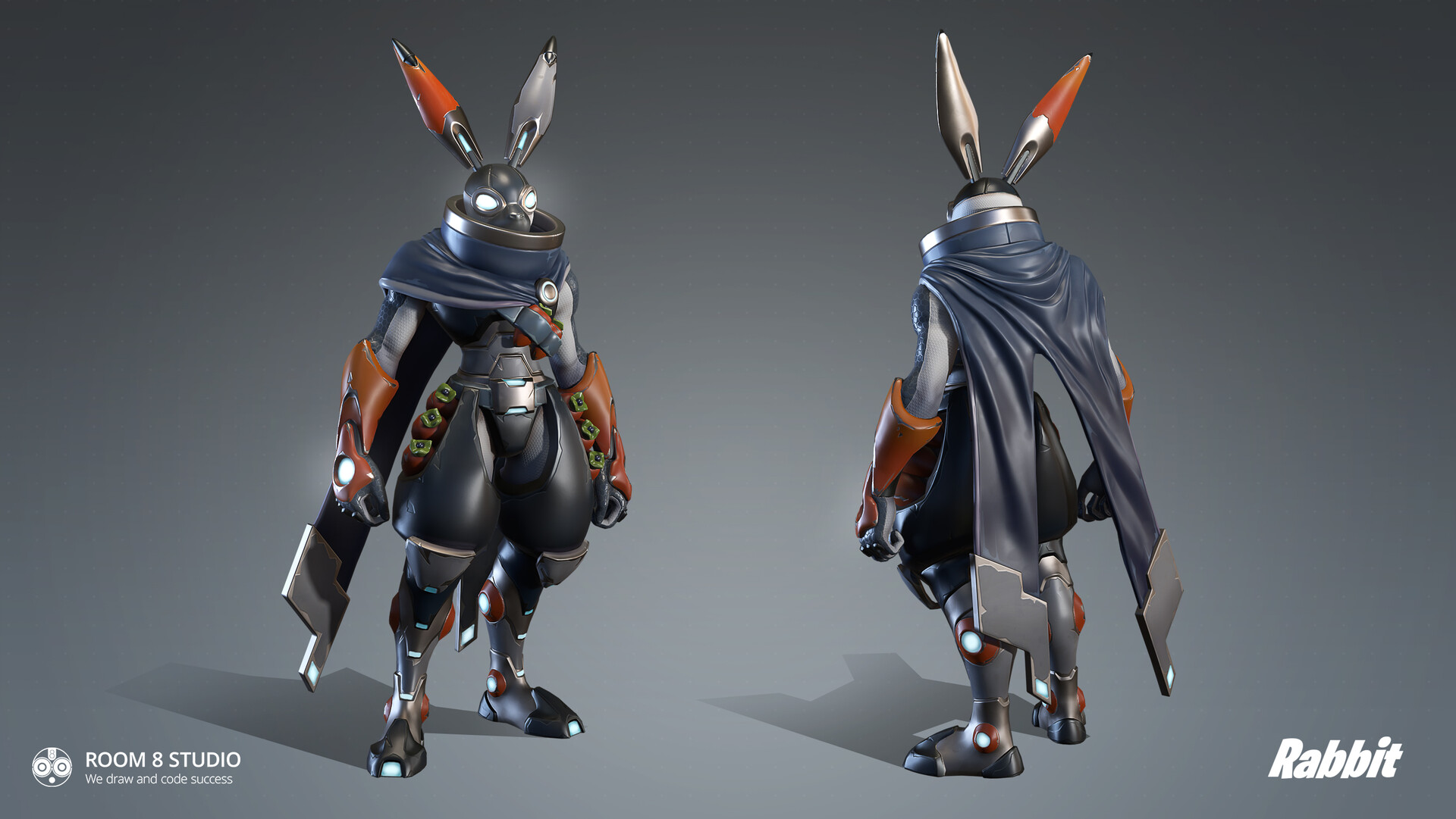 Room 8 studio rabbit render1