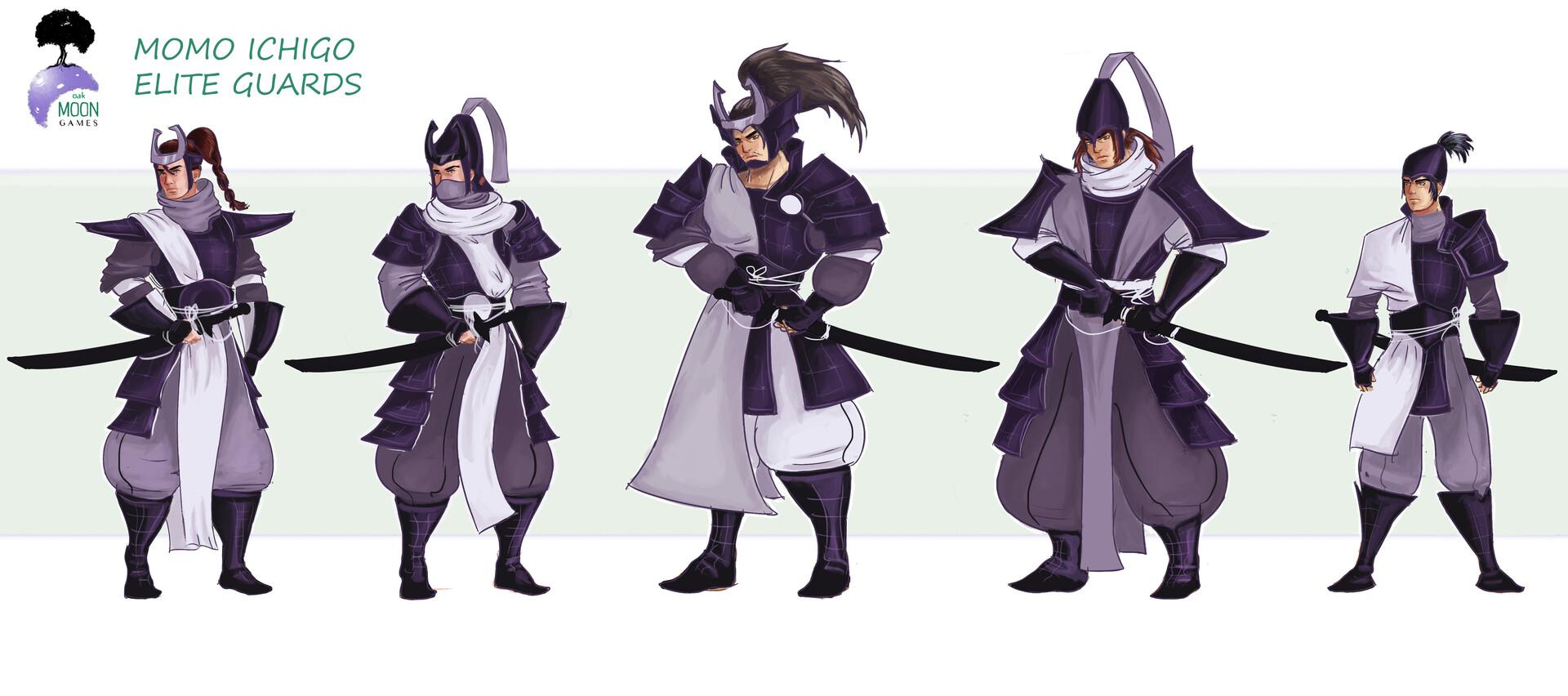 Elite Guard final designs