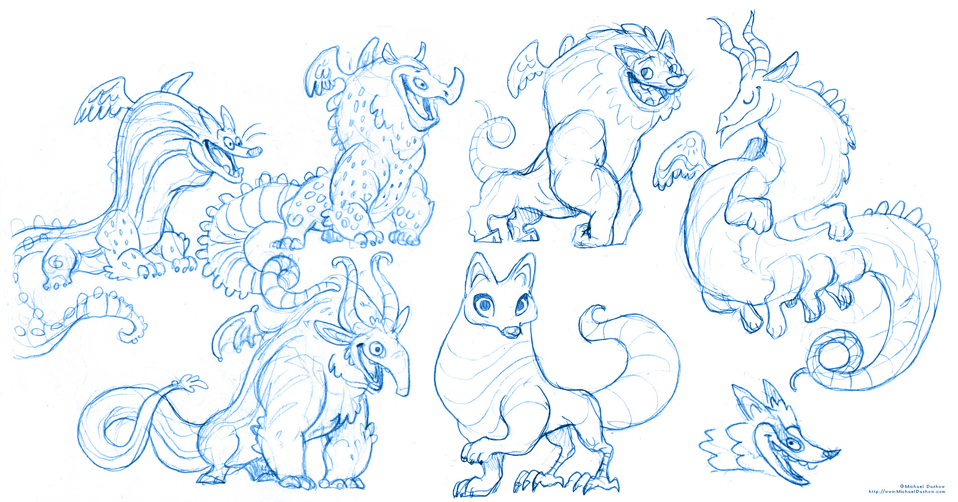 Michael dashow alebrijes 02 sketch page 6
