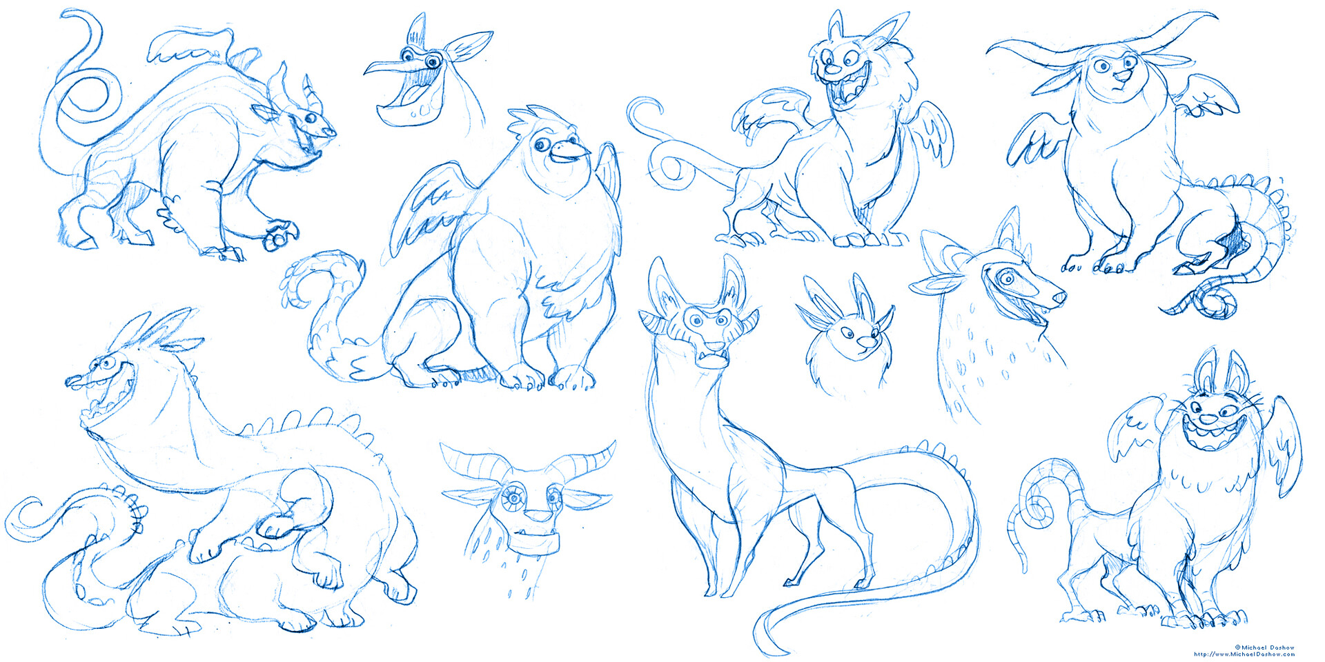 Michael dashow alebrijes 02 sketch page 7