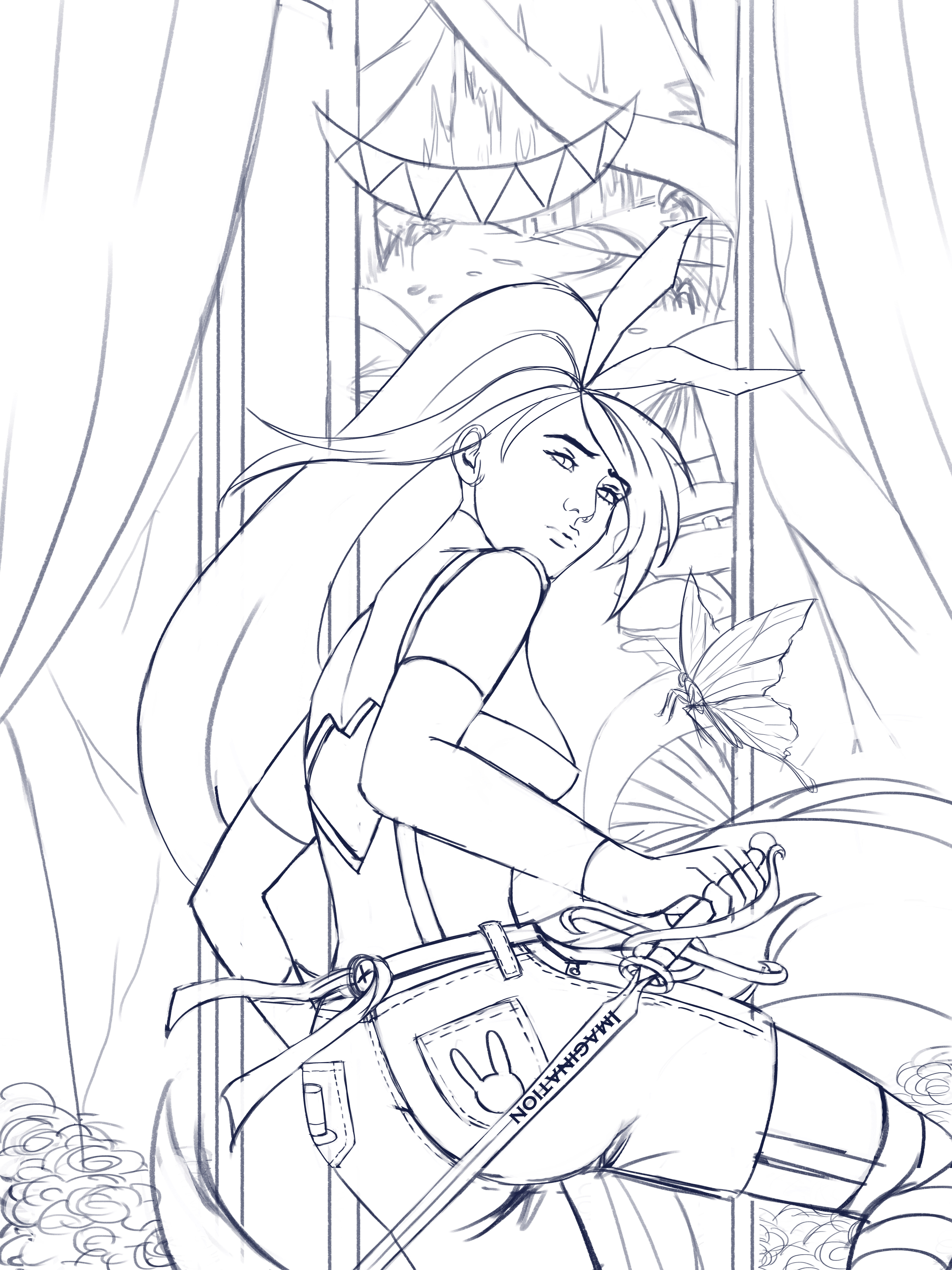 Step 1 - Lineart