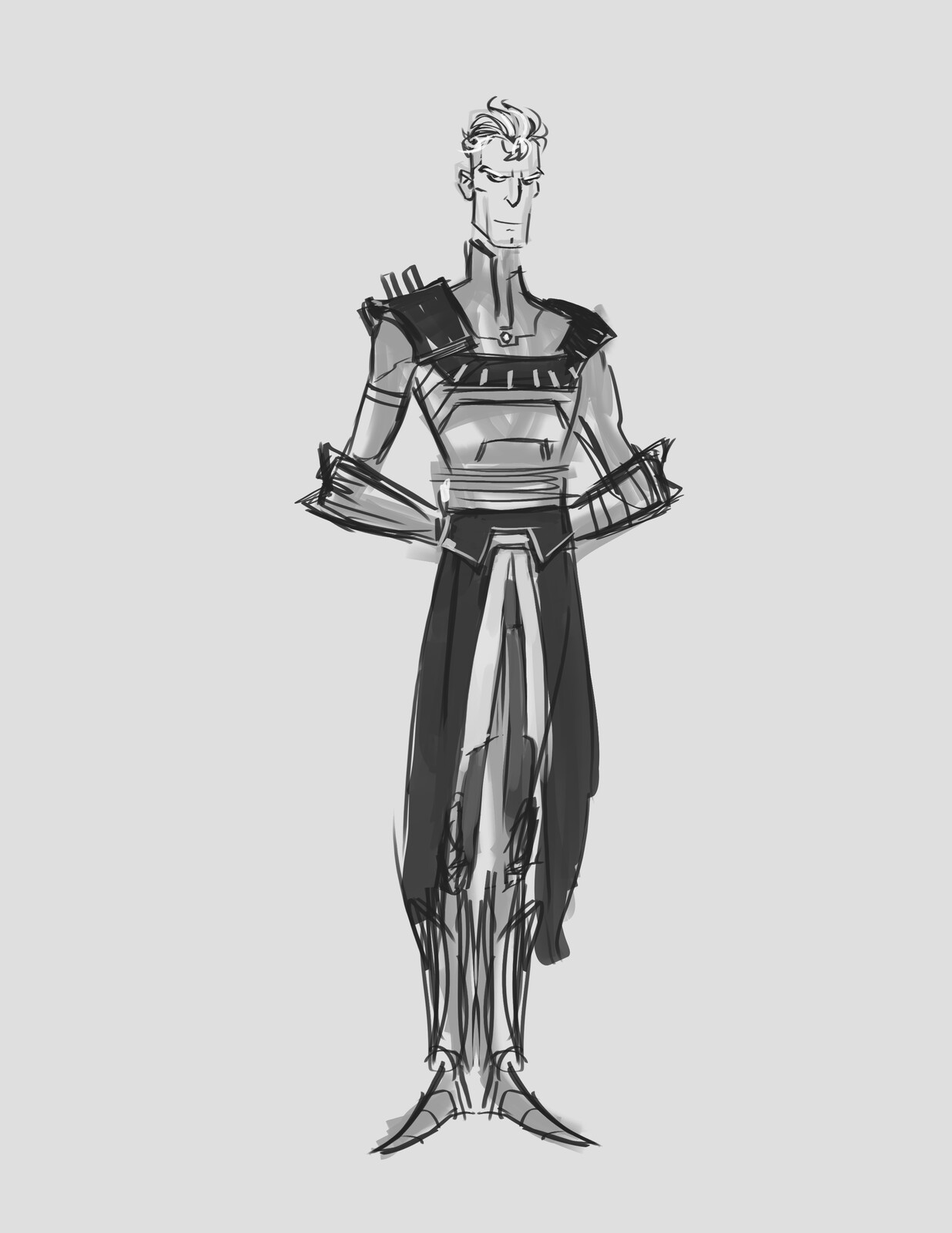 early design of 'young' Daxos.