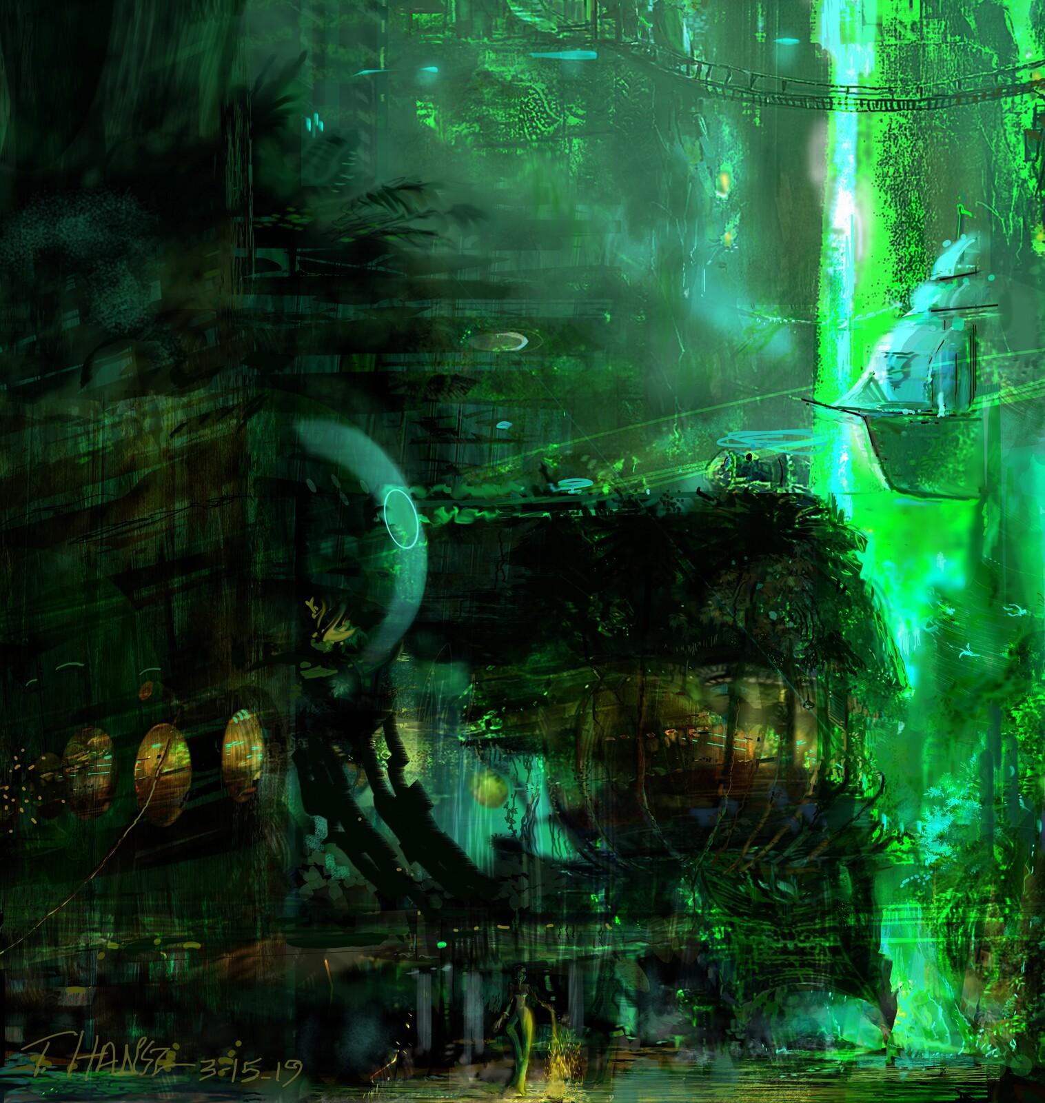 My Jungle Concept. Adult Amusement Park.