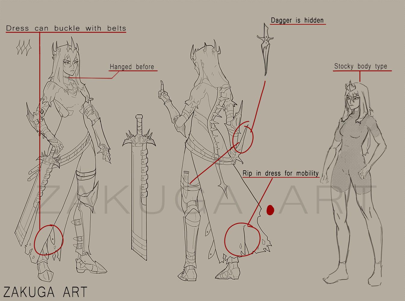Mignon zakuga character sheets info