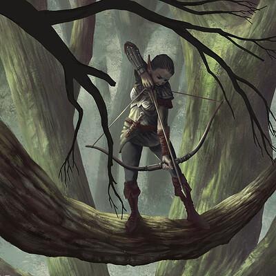 Jean buchet elf bow