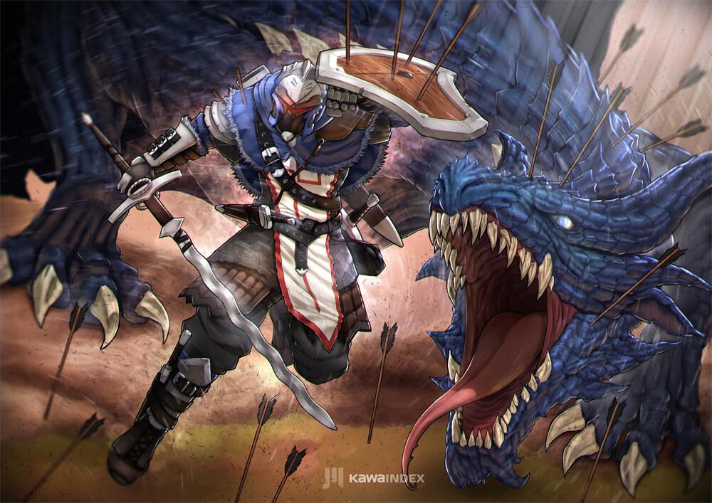 Kawa Index Artist Soldier 76 Fantasy Fanart