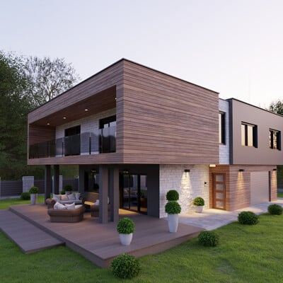 Petra mikulicic modern house