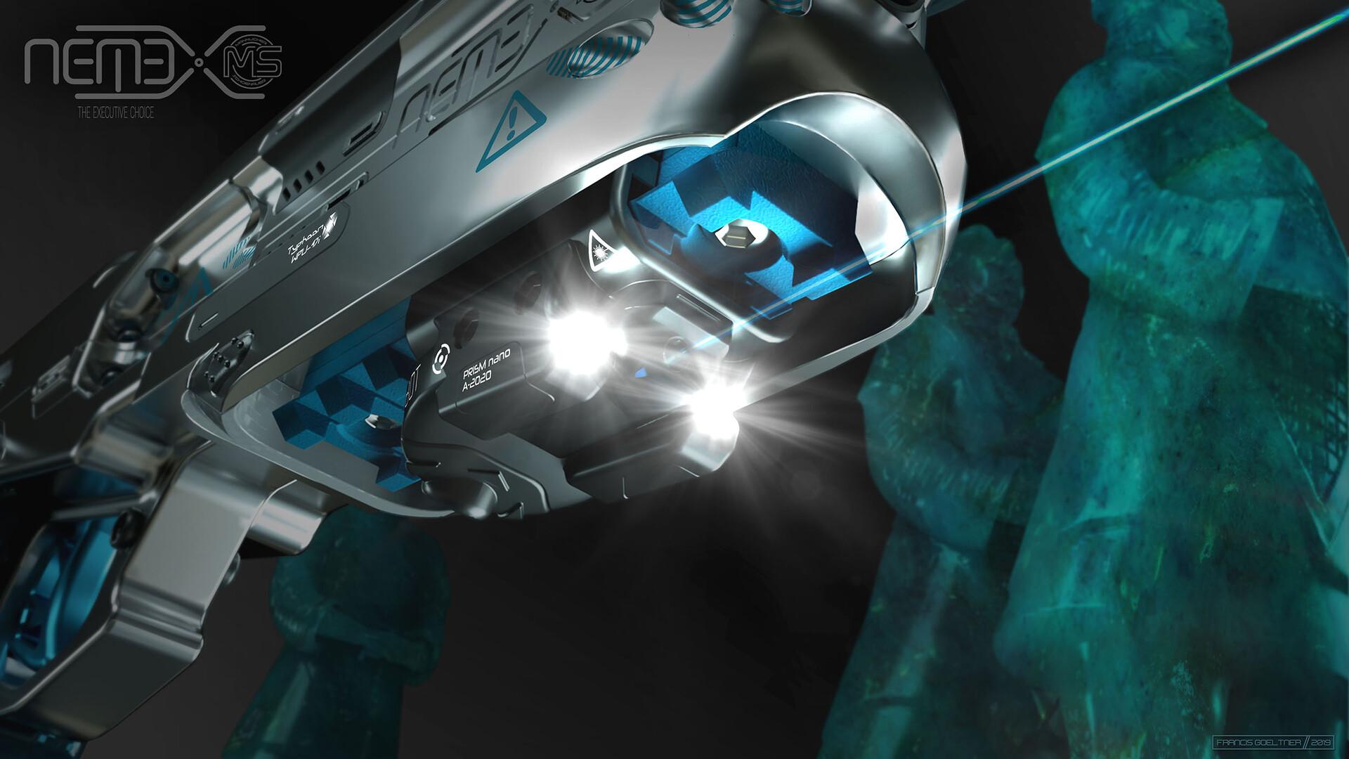 Francis goeltner marketforces nemexstudio 16flashlight laser m