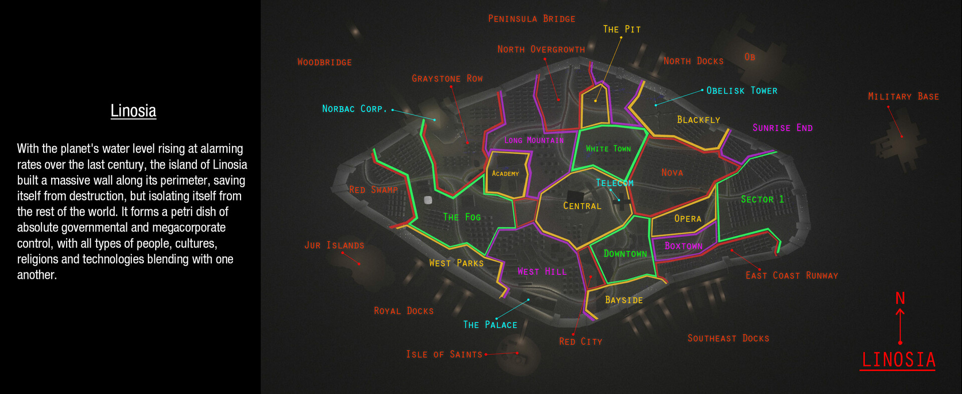 Shafi adam map
