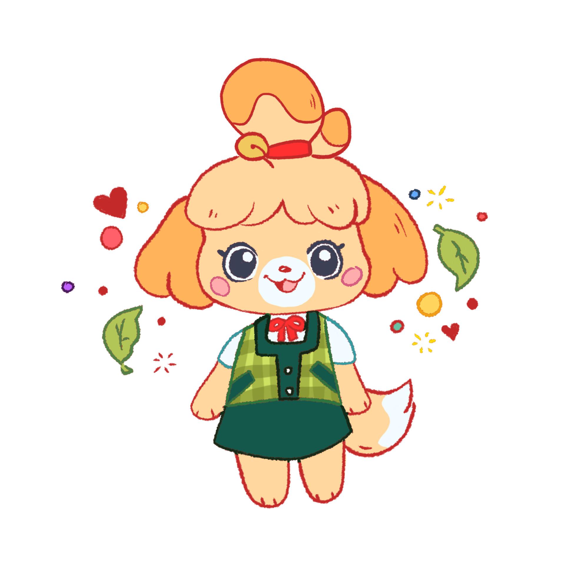 Mandi B Isabelle Animal Crossing