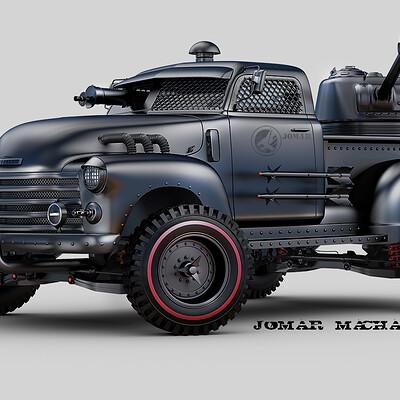 Jomar machado 183 combat pick up