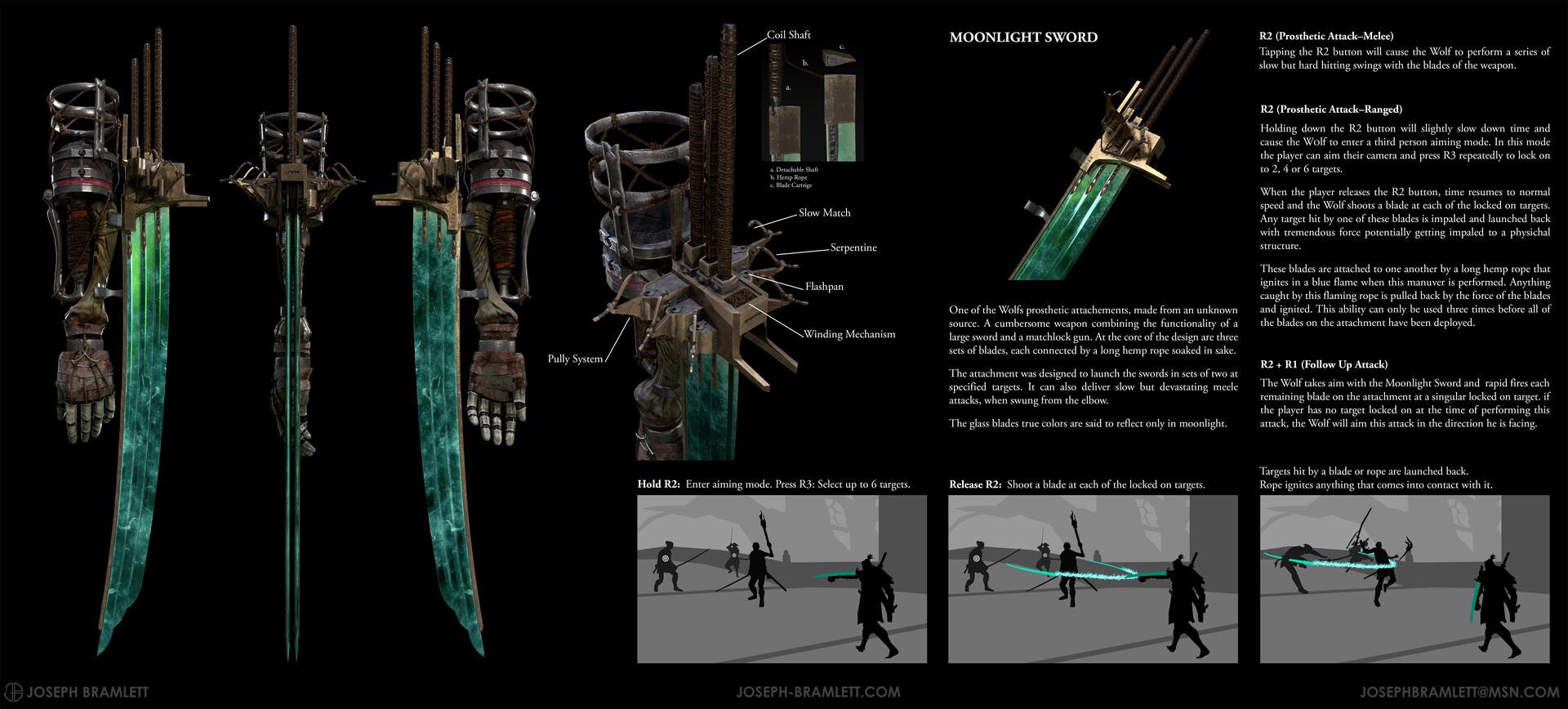 Joseph bramlett joseph bramlett moonlight sword sekiro contest entry v2