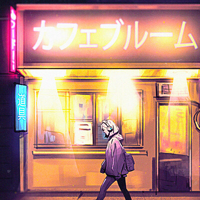 Taha yeasin street walk at night