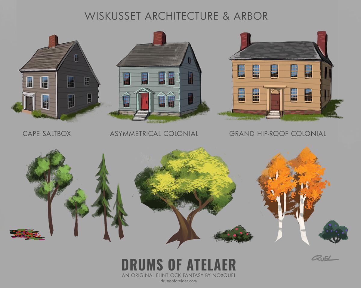 Wiskusset Architecture & Arbor