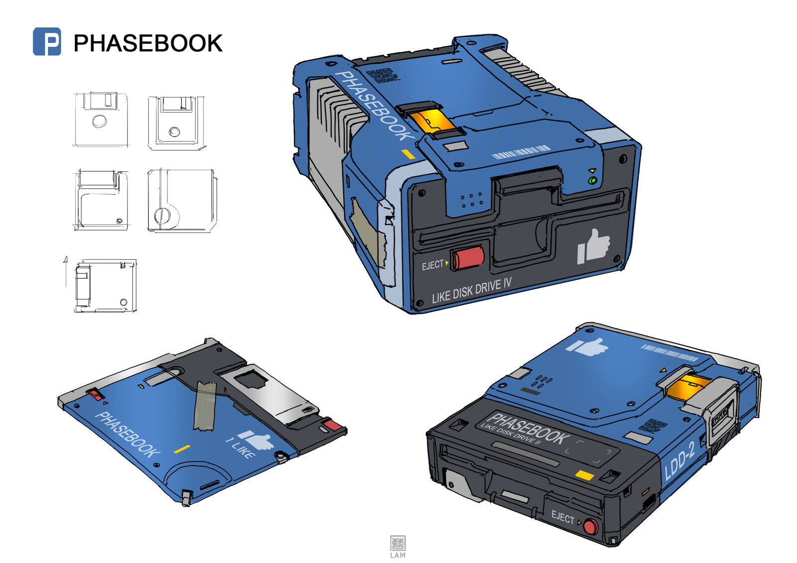 facebook / floppy disk