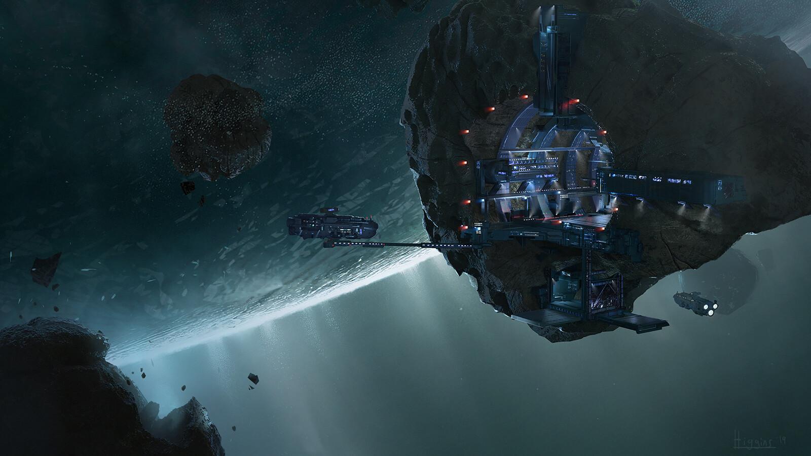 Brian higgins asteroid station web