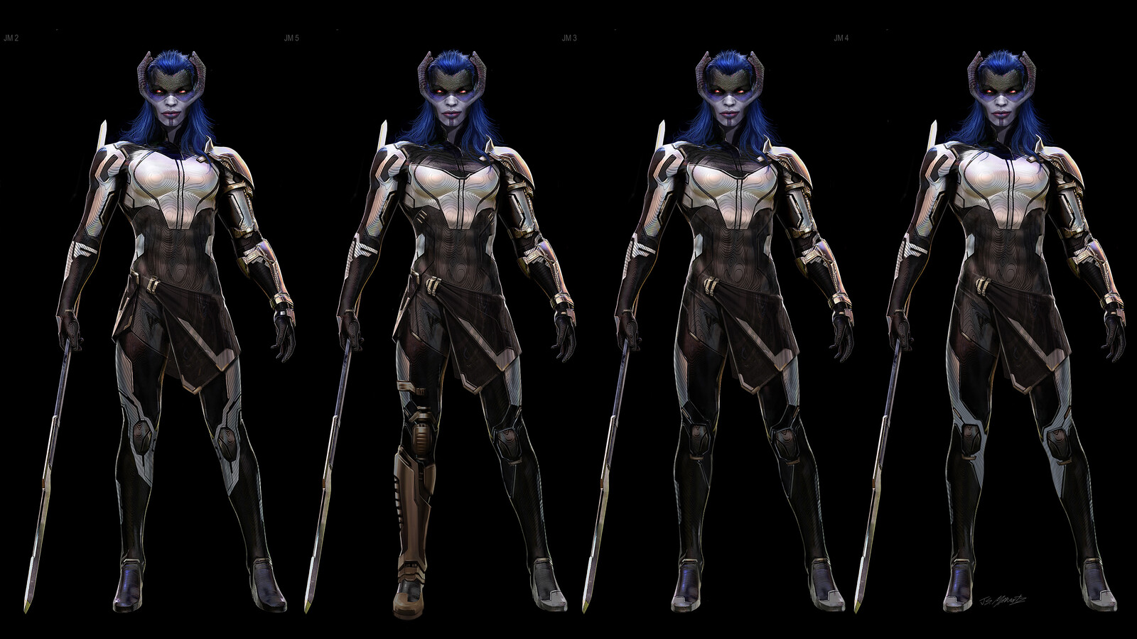 Proxima Midnight Designs: Avengers Infinity War