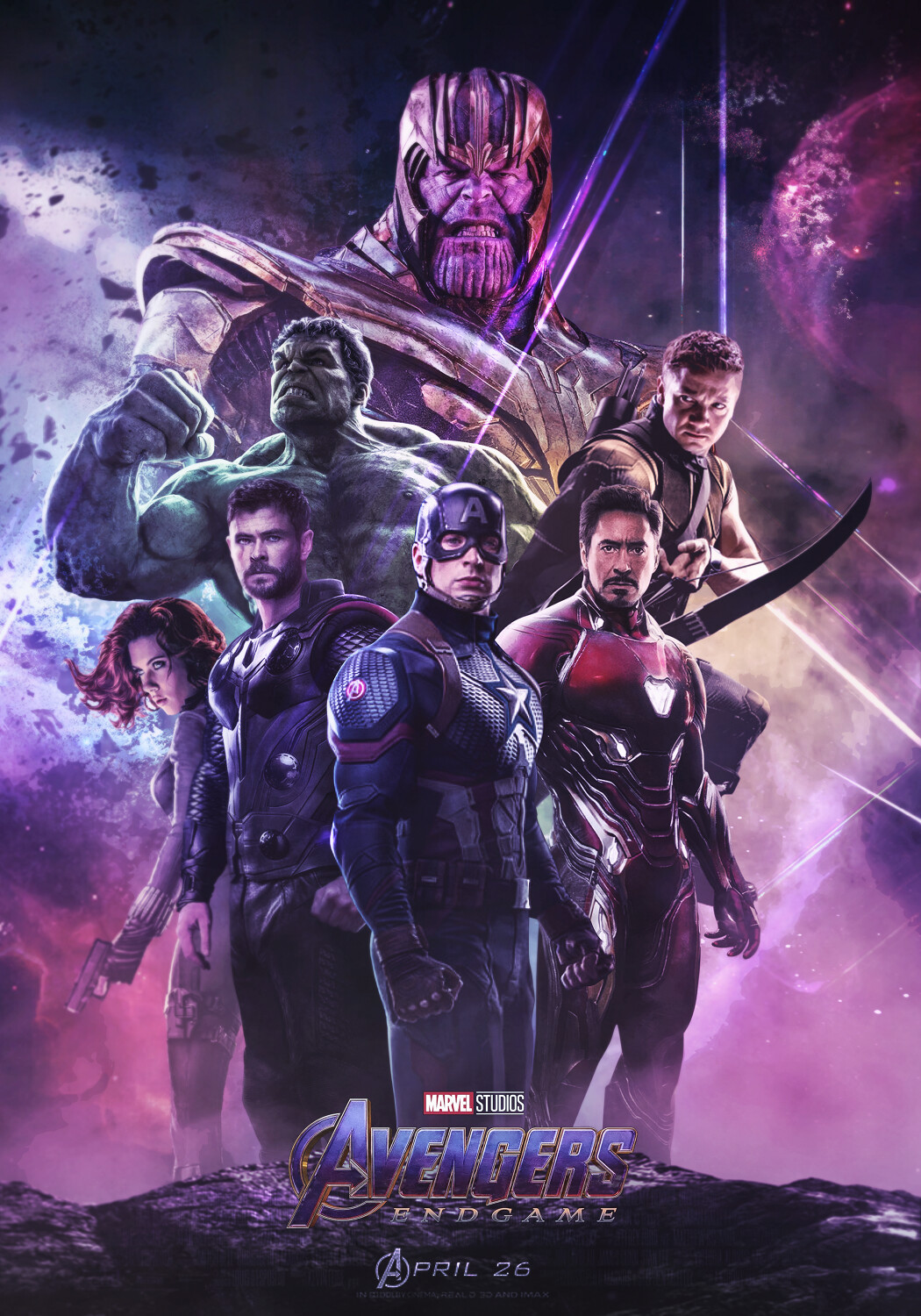 Mizuri Official Avengers Endgame The Avengers