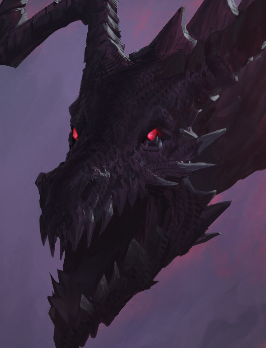 Artur treffner closup dragon