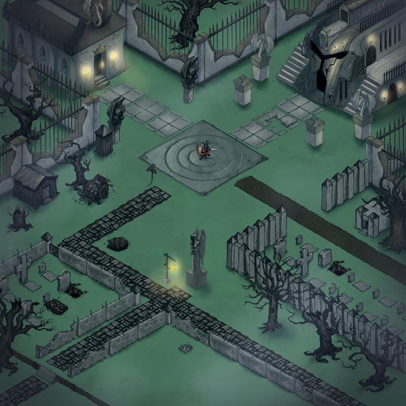 Michael rookard galefirerpg ruinsforestsplains map2 graveyard