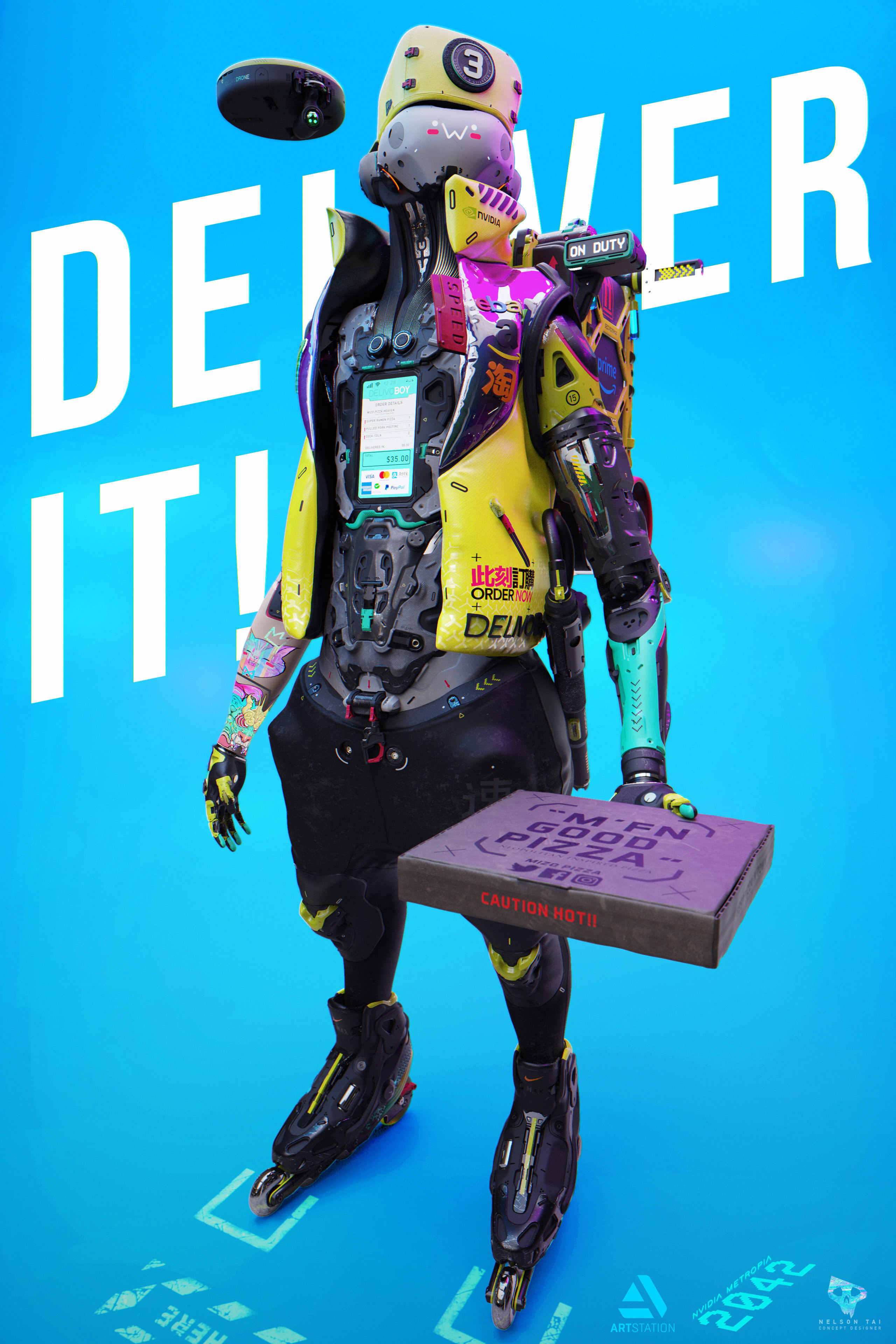 DelivoBoy Poster Ad