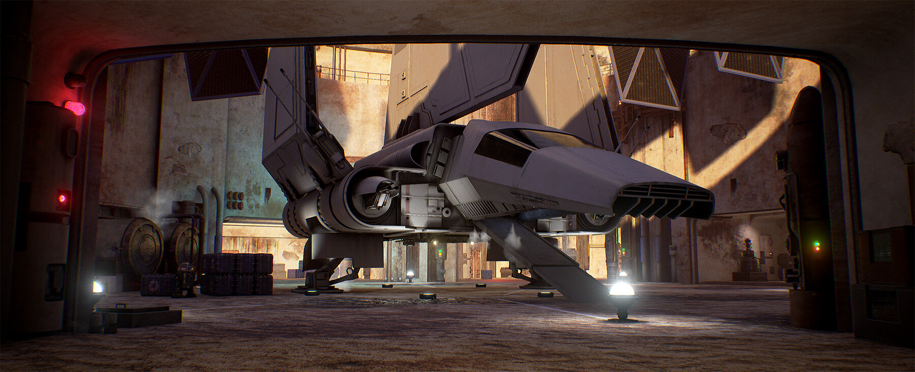 As seen on Kotaku: https://kotaku.com/fans-are-remaking-star-wars-dark-forces-in-unreal-engi-1833335006 