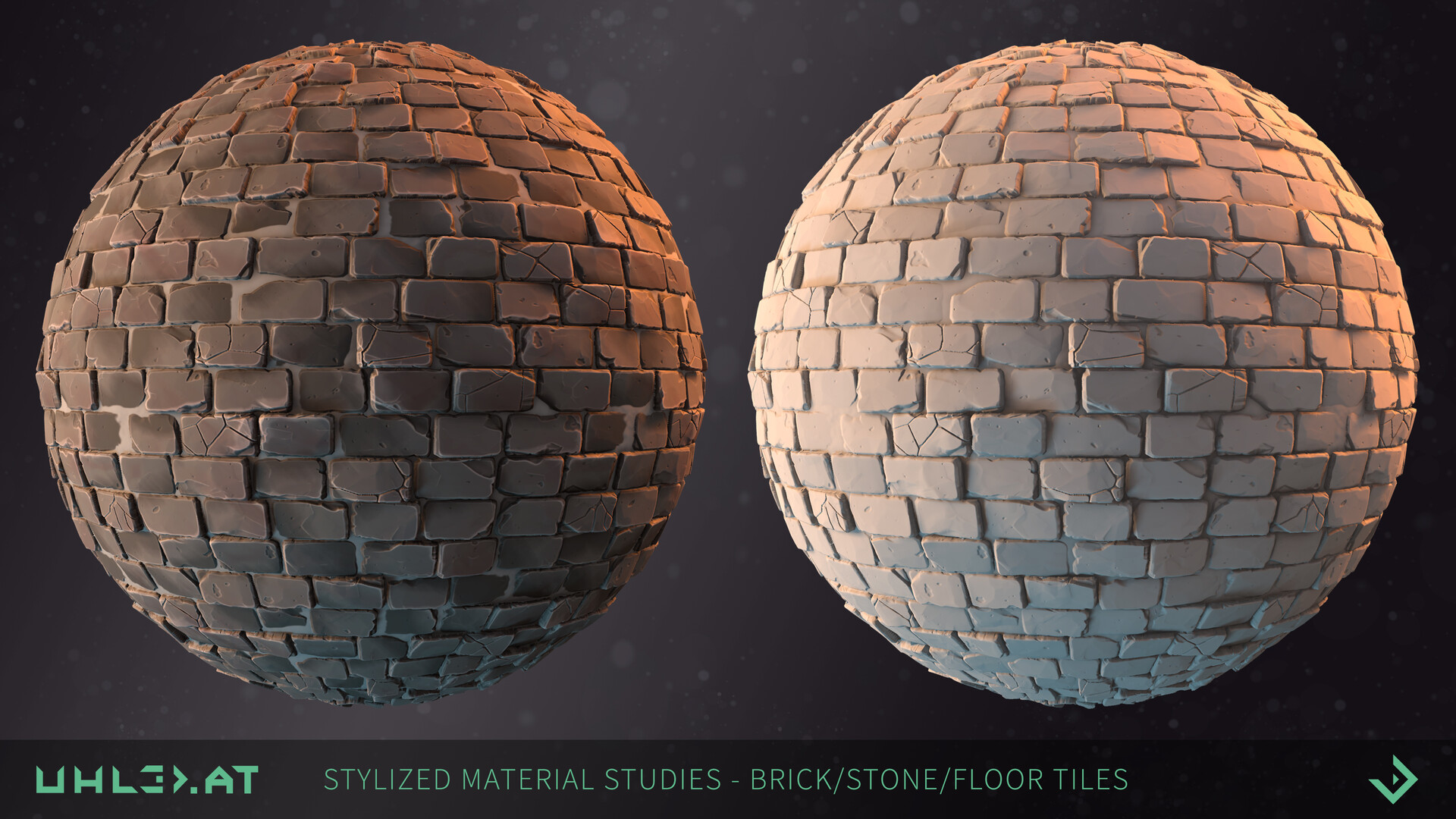 Dominik uhl stylized brick stone studies 02