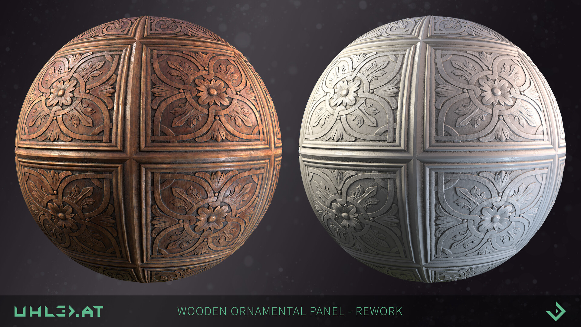 Dominik uhl wood panel ornament rework 01